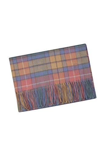 The Tartan Blanket Co. Merino Cashmere Baby Blanket Buchanan Antique Tartan (30