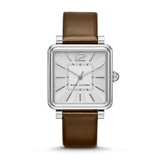 Marc Jacobs Women's Vic Brown Leather Watch - MJ1436