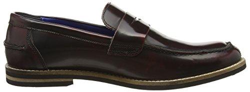 Red Tape Slaney - Zapatos sin cordones de otra piel hombre marrón - Brown (Burgundy 02)