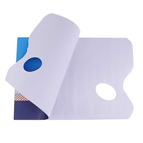 perfk ミキシングパレット 紙パッド 使い捨て 描画ツール 水彩用 絵画用品 約36枚入り 全2サイズ - 297X210mm
