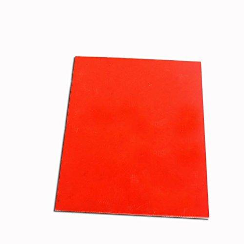 Orange Rubber Stamp Sheet