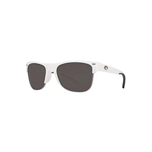 Costa Del Mar Pawleys Sunglasses White Gray 580g