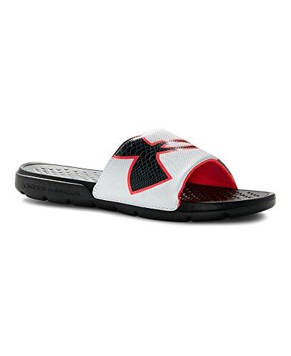 add9f0e6 Under Armour UA Strike Rock Slide Sandal - Black/Neo - Import It All