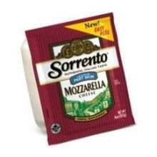 Sorrento Part Skim Mozzarella Cheese, 5 Pound -- 8 per case.