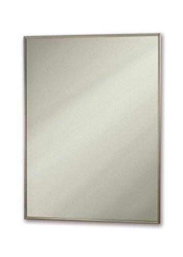 Jensen M18249301X Stainless Steel Frame Medicine Cabinet, 18
