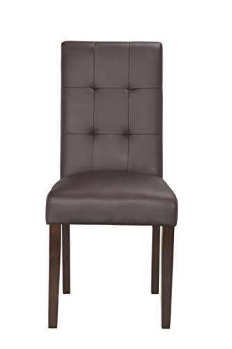 Boraam 82318 Lyon Parson Dining Chair, Brown At A Glance