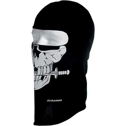 Schampa Stretch Full-Face Mask , Gender: Mens/Unisex, Primary Color: Black, Distinct Name: Pirate, Size: OSFM