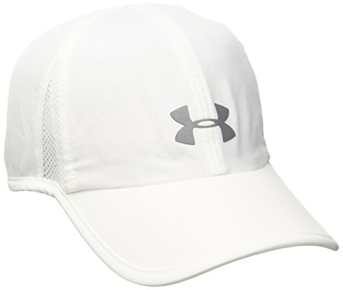 Under Armour Womens Shadow 2.0 Cap, White /Silver, One Size (White Camo Under Armour Hat)