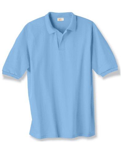 Hanes Adult EcoSmart Jersey Polo