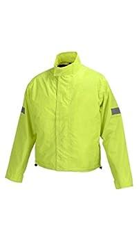 Motorcycle Biker Road Rain Jacket WaterProof Neon Green RJ1-1