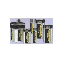 D Cell Industrial Strength Alkaline Battery, 2500mAh - 12-Pack by Energizer