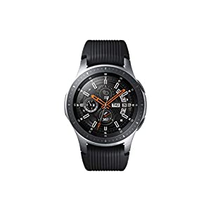 Samsung Galaxy Watch 46MM, Silver (SM-R800NZSAXAC)