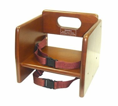 Winco CHB-704 Wooden Booster Seat, Walnut