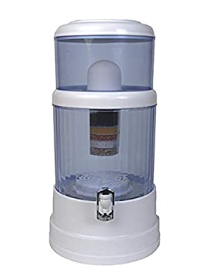 Countertop Water Filter Purifier Remove Fluoride and Chlorine H20 CT 4.0 Gallon by SHTFandGO