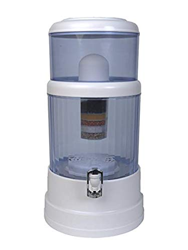 Countertop Water Filter Purifier Remove Fluoride and Chlorine H20 CT 4.0 Gallon by SHTFandGO ()