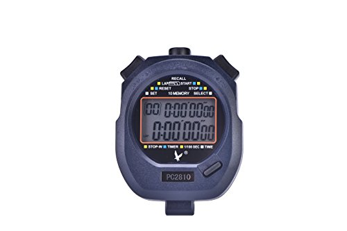 Professional Multi-function Handheld Sports Stopwatch Digital Chronograph Timer by T-best