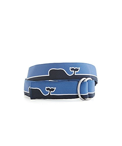 Vineyard Vines Whale Line D Ring Belt (Vineyard Vines Canvas)