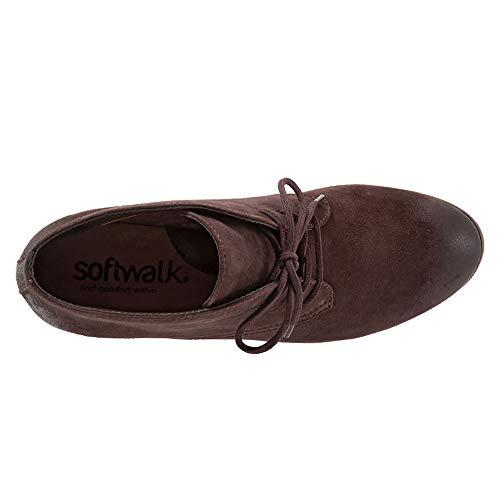 Dark Boot Women's Brown Softwalk Ankle Ramsey xIqYCITSw