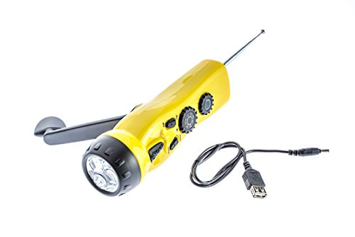 SE FL3134 4-in-1 Dynamo Emergency Radio Flashlight
