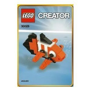 LEGO Creator Mini Figure Set Clown Fish 30025, Baby & Kids Zone