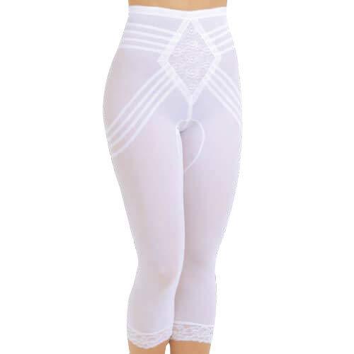 Rago Women's Capri Pant Liner - Shaper, Beige, Small (26)