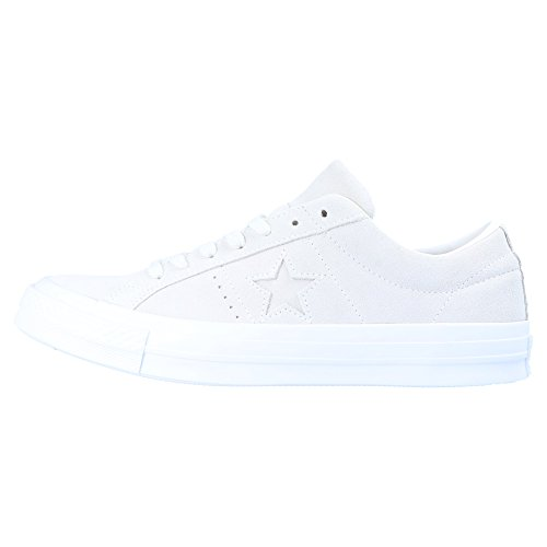 Converse Unisex Adults' One Star Ox Dusk Pink Trainers, White White