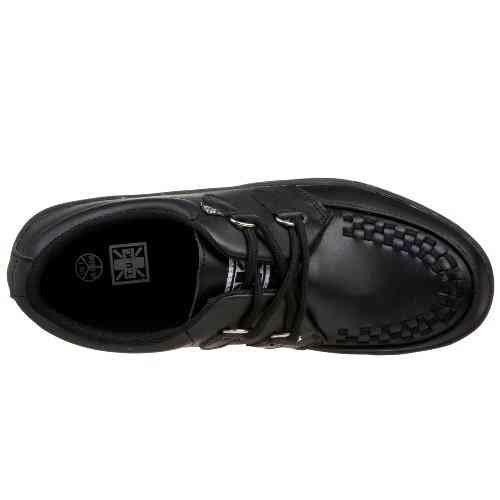 T.U. K.-A6062 TUK chaussures Creeper Baskets Originals Creepers 2 anneaux en cuir véritable Style gothique pUNK BEST skaters haute qualité-prix