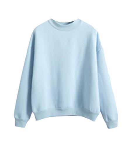 Baby Blue Sweatshirt - 1