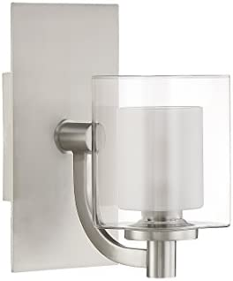 Quoizel KLT8601BNLED Kolt Modern Wall Sconce, 1-Light, LED 4.5 Watts, Brushed Nickel 9 H x 5 W