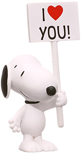 Schleich Peanuts I Love You! Snoopy Figure ()