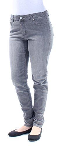 Michael Michael Kors Woman Classic Pant - MICHAEL Michael Kors Women's Selma Gunmetal Wash Skinny Jeans (4)