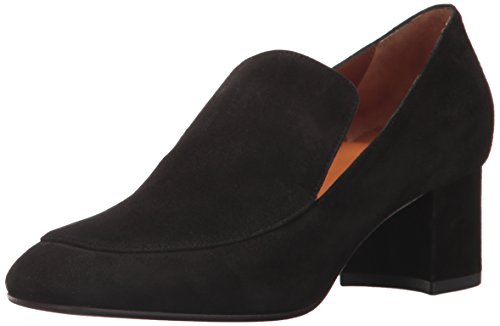 Aquatalia Women's JILIANNE Suede, Black, 10 M M US