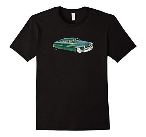 1949 1950 1951 Chopped Mercury Coupe Shirt - Elegant Customs 1950 Mercury Coupe