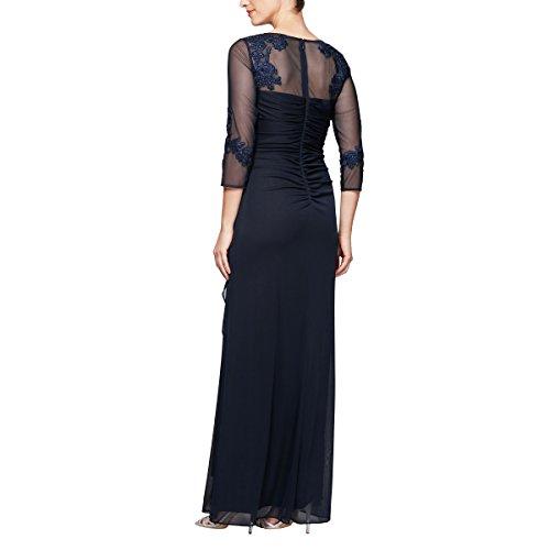 3445ef9efab ... Evenings Women s Plus Size Long Sleeve Sweetheart Neckline Dress