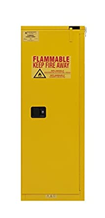 Wonderful Durham 1022S 50 Flammable Safety Cabinet, 1 Self Closing Door, 22 Gal,