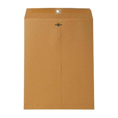 Sparco Clasp Envelope, 32 lbs, 10 x 13 Inches, 100 per Box, Kraft (SPR09097)