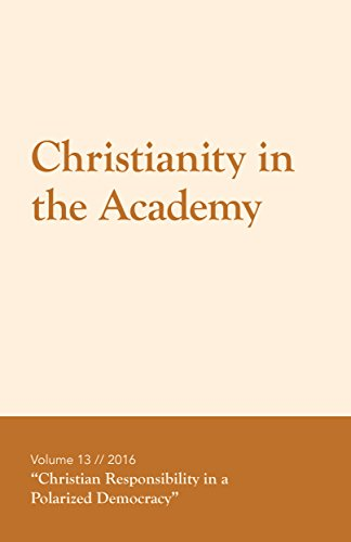 Christianity in the Academy 2016