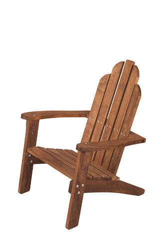 Maxim Child's Adirondack Chair. Kids Outdoor Wood Patio Furniture for Backyard, Lawn & Deck (Cheap Chairs Wooden Rocking)