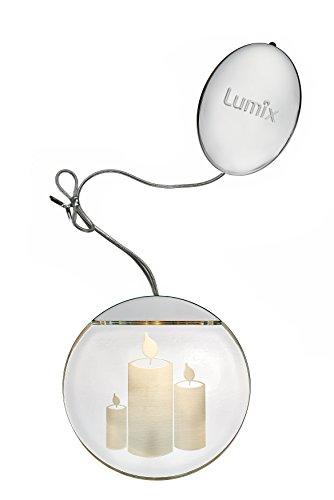 Lumix Weihnachtsbeleuchtung.Krinner Lumix Deco Lights Kerzen Acryl 10 X 10 Cm