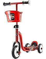 سكوتر ديزني بثلاث عجلات من ميسوكا - احمر