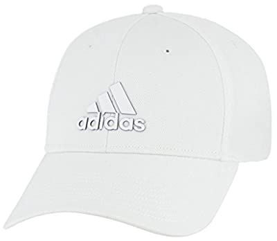 adidas Men's Standard Franchise Stretch Fit, White/Bold Blue, L/XL by adidas