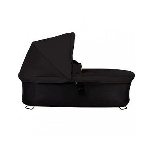 Mountain Buggy Carrycot Plus with 3 Seat Modes for 2015 Swift and Mb Mini, Black by Mountain Buggy