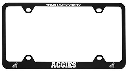 Texas A&M University -Metal License Plate Frame-Black ()