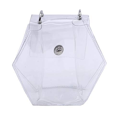 Pour À Bandoulière Deliv Bag Main Femmes Sacs Transparents Messenger Noir Transparent Bandoulière nFxwIx