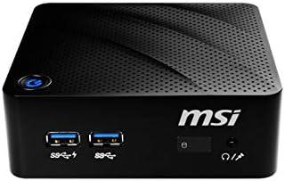 PC de Escritorio MSI Cubi N 8gl-014X EU N4000//128G/HD Graph/Dos/Negro