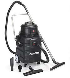 Powr-Flite PF54 Wet Dry Vacuum with Polyethylene Tank and Tool Kit, 15 gal Capacity ()