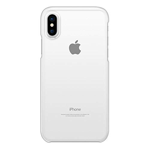 Exterior Snap - Casetify Clear Snap Designed for Apple iPhone Xs Case (2018) / Designed for Apple iPhone X Case (2017)