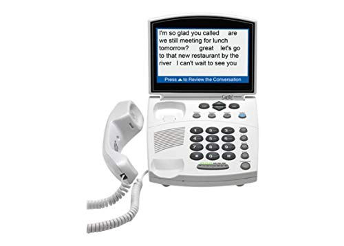 Hamilton CapTel 840i - Captioning Corded Telephone for People with Hearing Loss (Requires Telephone and Internet Service)