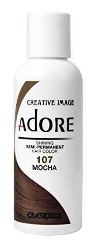 Adore Semi-Permanent Haircolor #107 Mocha 4 Ounce (118ml)