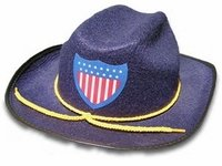 Union Civil War Officer Hat Small (Kids Union Officer Hat)